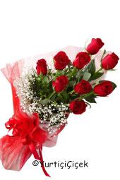 Kırmızı Gül : 9 Adet   Onun adını duymanızla dökülüyor sevgi sözcükleri gönlünüze. Siz de sevdiğinizi mutlu etmek için ona kırmızı gül buketi gönderebilirsiniz.