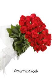 Kırmızı Gül : 31 Adet  Aşkınızı en tutkulu biçimde yansıtacak çiçek kırmızı güldür. Kırmızı güllerden hazırlanan buket ile ona aşkınızı ilan edeceksiniz.